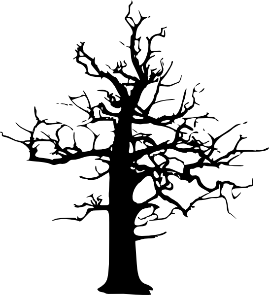 clip art dying tree - photo #18