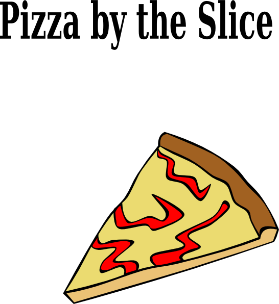 Pizza Lunch Clipart