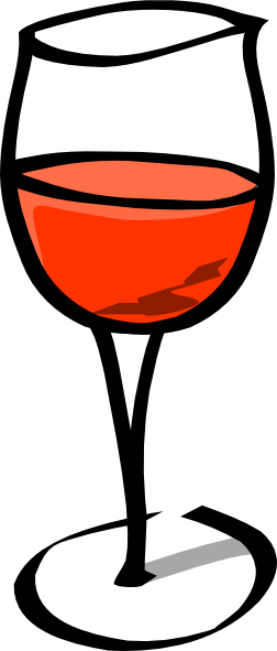 Wine Glass Clip Art at Clker.com - vector clip art online, royalty ...: www.clker.com/clipart-wine-glass-9.html
