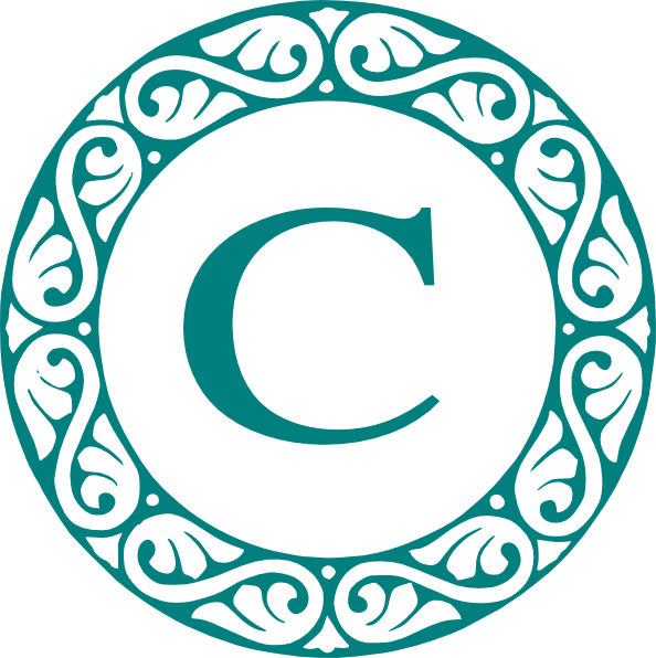 Letter C Monogram Clip Art at Clker.com - vector clip art ...