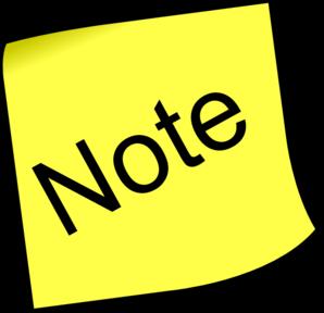 note clip art at clker com vector clip art online royalty free rh clker com note clip art note clip wallet