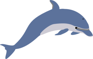 dolphin clip art at clker com vector clip art online royalty free rh clker com clipart dolphins playing clipart dolphins jumping