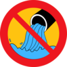 Anti Waste In Water Icon Clip Art