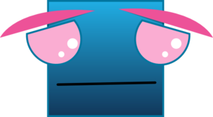 Sad Square Clip Art