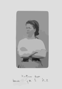 [french Political Leaders, And Revolutionaries Who Took Part In The Paris Commune Of 1871: Hortense David, Cannonier Of The Seine Fleet] Clip Art