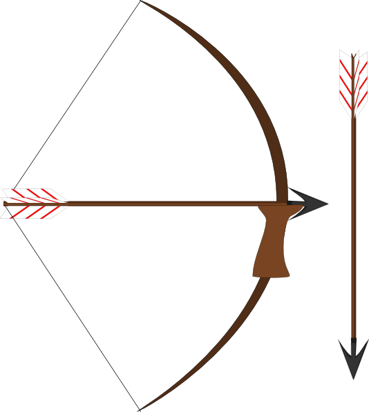 Bow And Arrow clip artIndian Bow And Arrow Clip Art