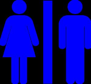 dark blue restroom clip art at clker com vector clip art online rh clker com restroom pass clipart restroom pass clipart