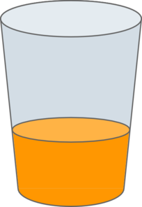 Orange Juice In Glass Clip Art at Clker.com - vector clip art online ...