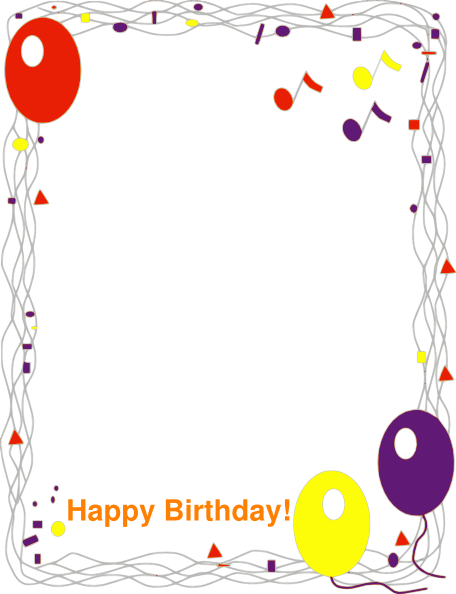 happy birthday border clip art at clker com vector clip art online rh clker com birthday cake border clip art happy birthday borders clip art