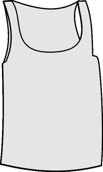 Undershirt Clip Art At Clker Com Vector Clip Art Online