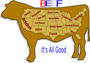 Beef It S All Good Clip Art