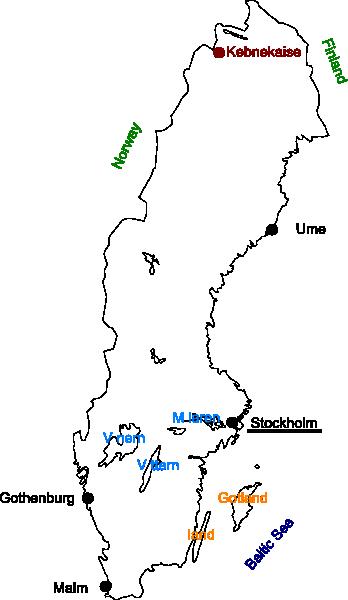 Sweden Map Clip Art At Clker Com Vector Clip Art Online