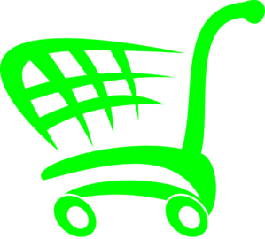 Green Basket Clip Art