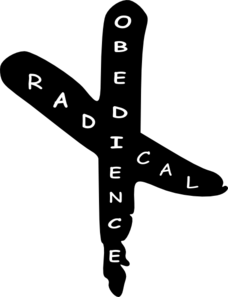 Radical Obedience Cross Clip Art