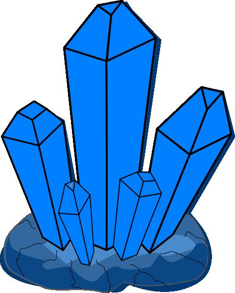 Blue Crystal Clip Art at Clker.com - vector clip art ...