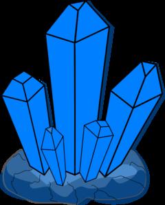 Blue Crystal Clip ArtQuartz Clipart