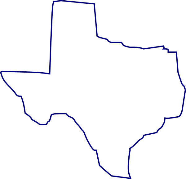 clipart map of texas - photo #16