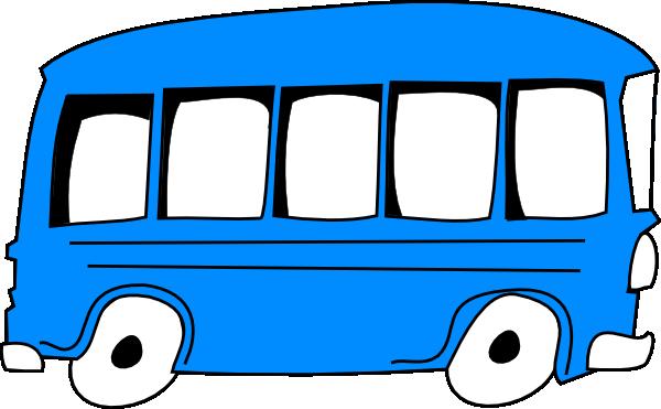 Blue bus clip art at vector clip art online for Clipart bus