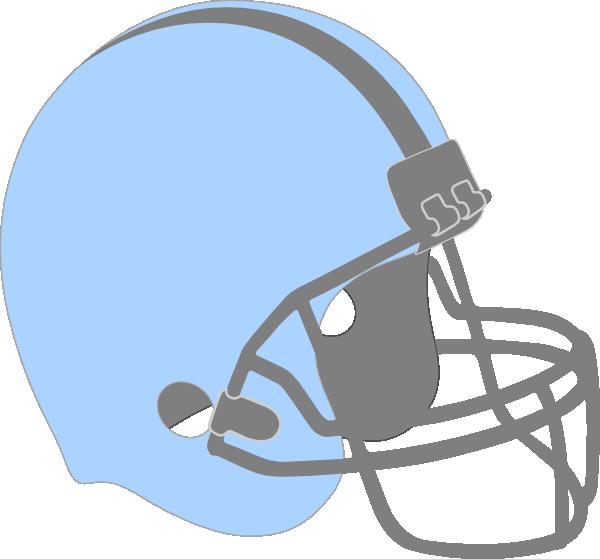 Blue Football Helmet Clip Art At Clker Com Vector Clip
