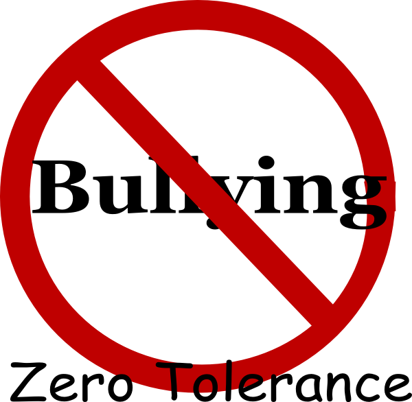 no bullying clip art at clker com vector clip art online royalty rh clker com Pictures About Bullying School Bullying Signs
