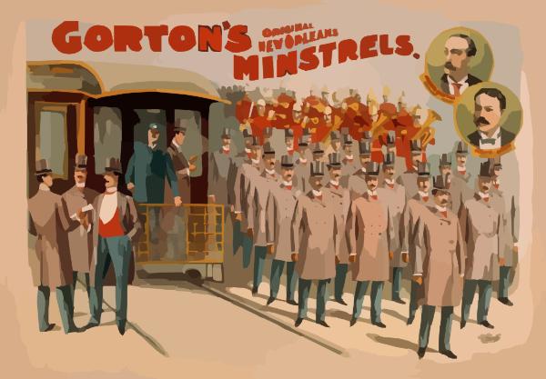 clip art new orleans. Gorton S Original New Orleans Minstrels Clip Art