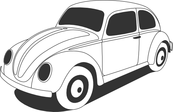 vw beetle clip art at clker com