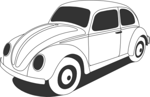 vw beetle clip art at clker.com - vector clip art online, royalty free &  public domain  clker