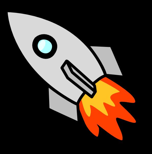 free cartoon rocket ship clip art - photo #45