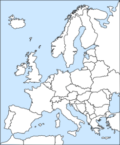 Map Of Europe Clip Art