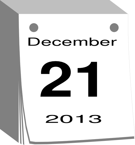 December Calendar Clipart : December calendar clip art at clker vector