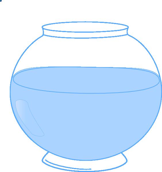 Fish bowl clip art at vector clip art online for Fish bowl printable