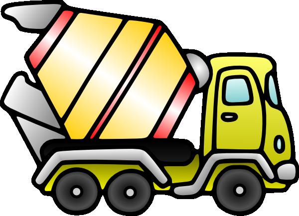 Mixer Truck Clip Art at Clker.com - vector clip art online, royalty ...