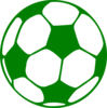 Green Football Clip Art