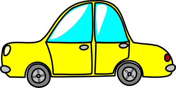 Toy Car Clip Art : Yellow toy car clip art at clker vector