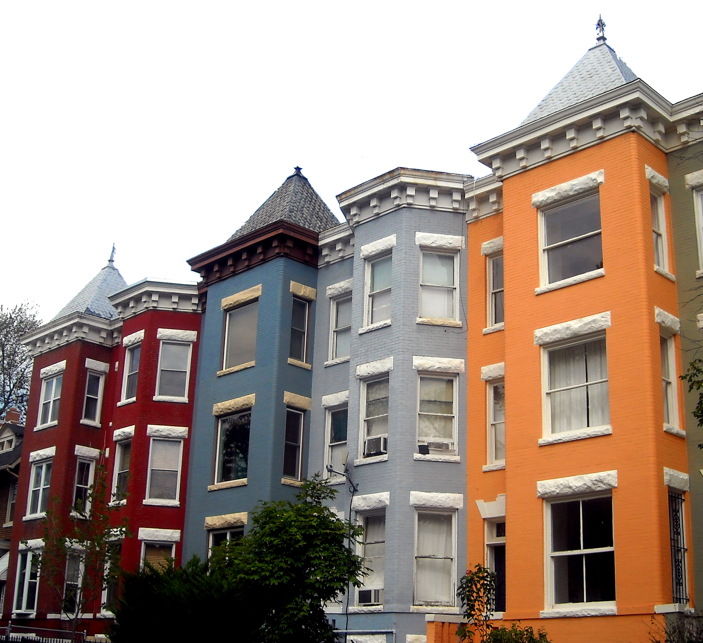 row of houses clipart. row houses image of clipart