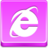 Free Pink Button Internet Explorer Image