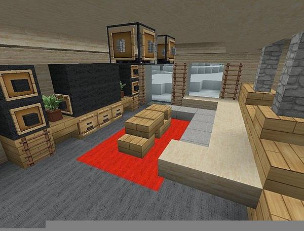 Interior Design Clip Art: Minecraft Interior Design