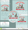Bride And Groom On Bicycle Clipart Image