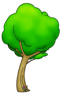 Cartoon Trees St Image