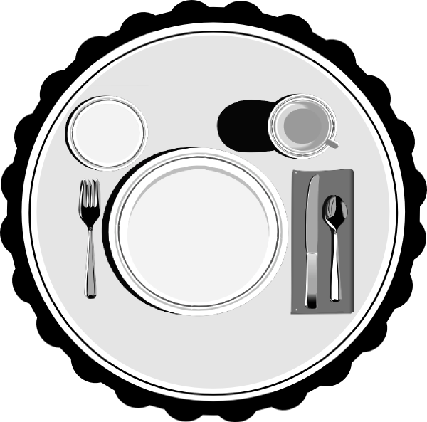 Table Setting Clipart Part - 45: Download This Image As: