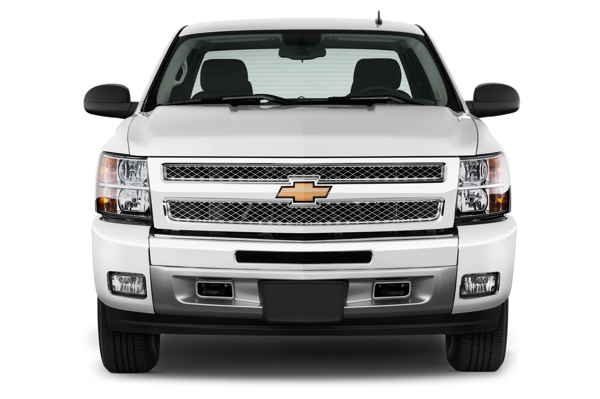 Chevrolet Silverado Lt Extended Cab Mwb Truck Front View