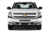 Chevrolet Silverado Lt Extended Cab Mwb Truck Front View Image