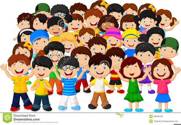 Free Clipart Crowds   Free Images at Clker.com - vector ...