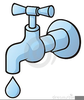 Dripping Tap Clipart Image