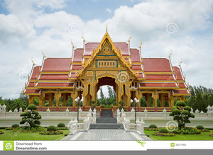 Thailand Palace Clipart Image