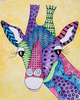 Zentangle Watercolor Animals Image