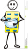 Chemist Mortar Clipart Image