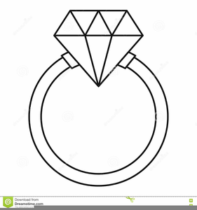 Diamond Ring Clipart Black And White | Free Images at ...