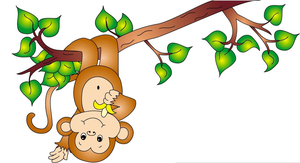 Cheeky monkey. Clipart free images at