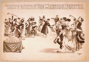 Richards & Pringle S, Rusco & Holland S Big Minstrel Festival Image